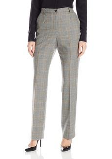 Pendleton Women's Worsted Flannel True Fit Trousers Carnegie Tartan