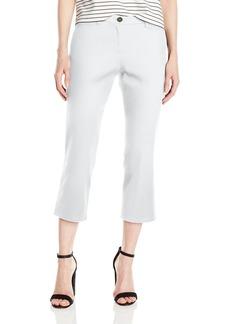 Pendleton Women's Zia Twill Crop Pants White Cavalry