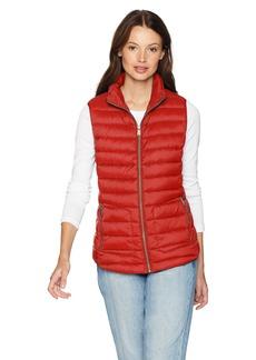 Pendleton Women's Zip Front Vest red Rock XL