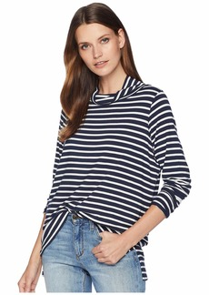 Pendleton Stripe Jersey Turtleneck