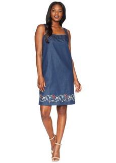 Pendleton Tala Embroidered Cotton Apron Dress