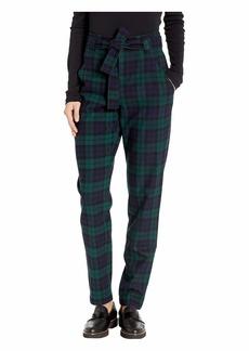 Pendleton Tartan Belted Trousers