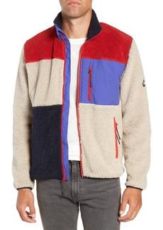 Penfield Mattawa Colorblock Fleece Zip Jacket