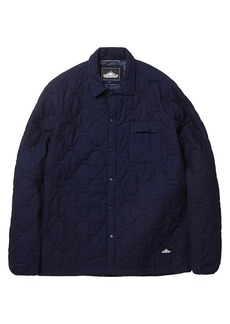 Penfield Men's Blackstone Quilted Indigo Shirt