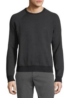 Penguin Birdseye Jacquard Crewneck Sweater