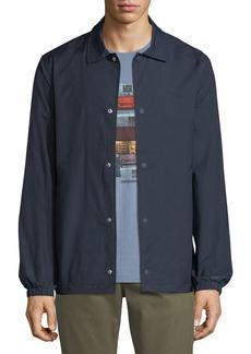 Penguin Button-Front Coach Jacket