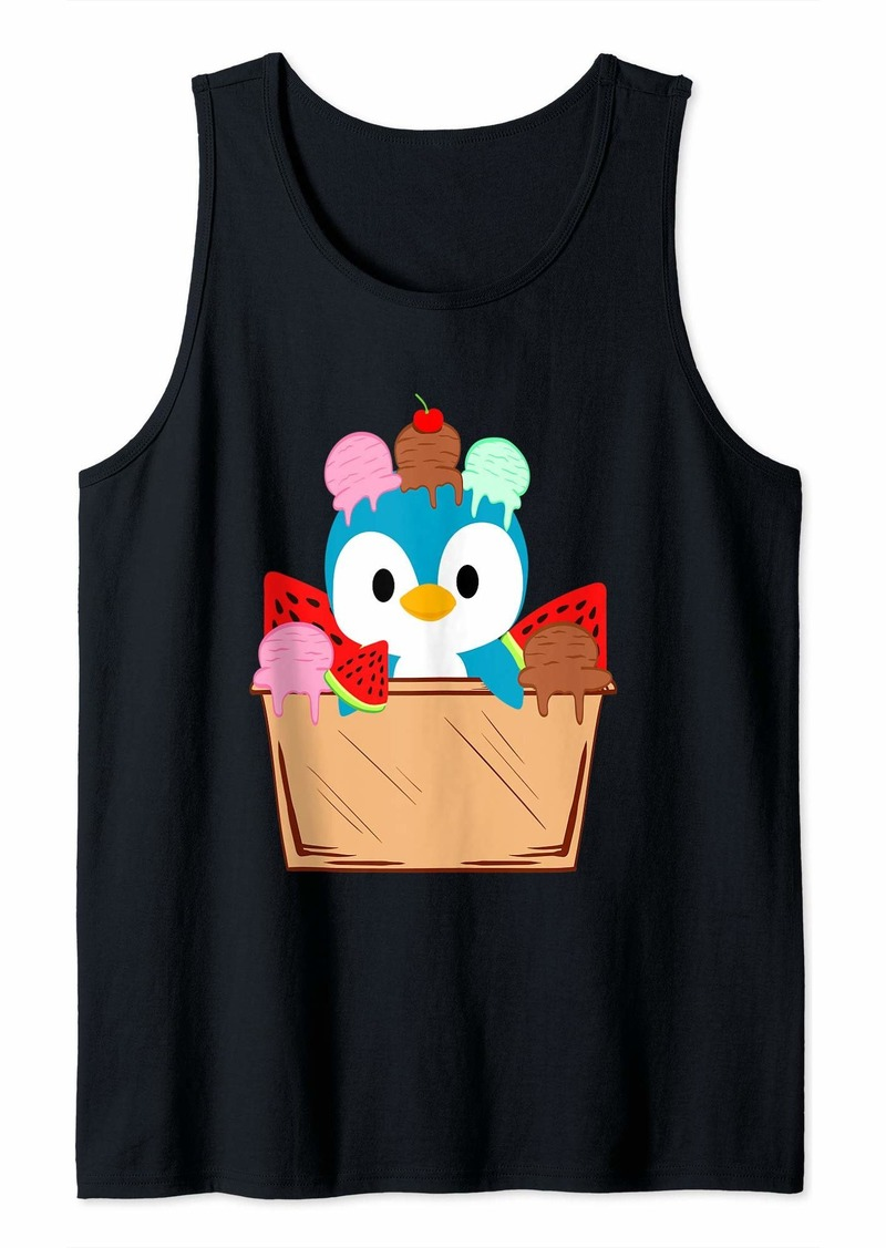 Funny Cute Penguin Love  Zookeeper Animal Lover Love Tank Top