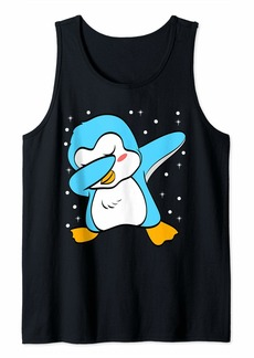 Funny Cute Penguin Love Zookeeper Animal Tank Top