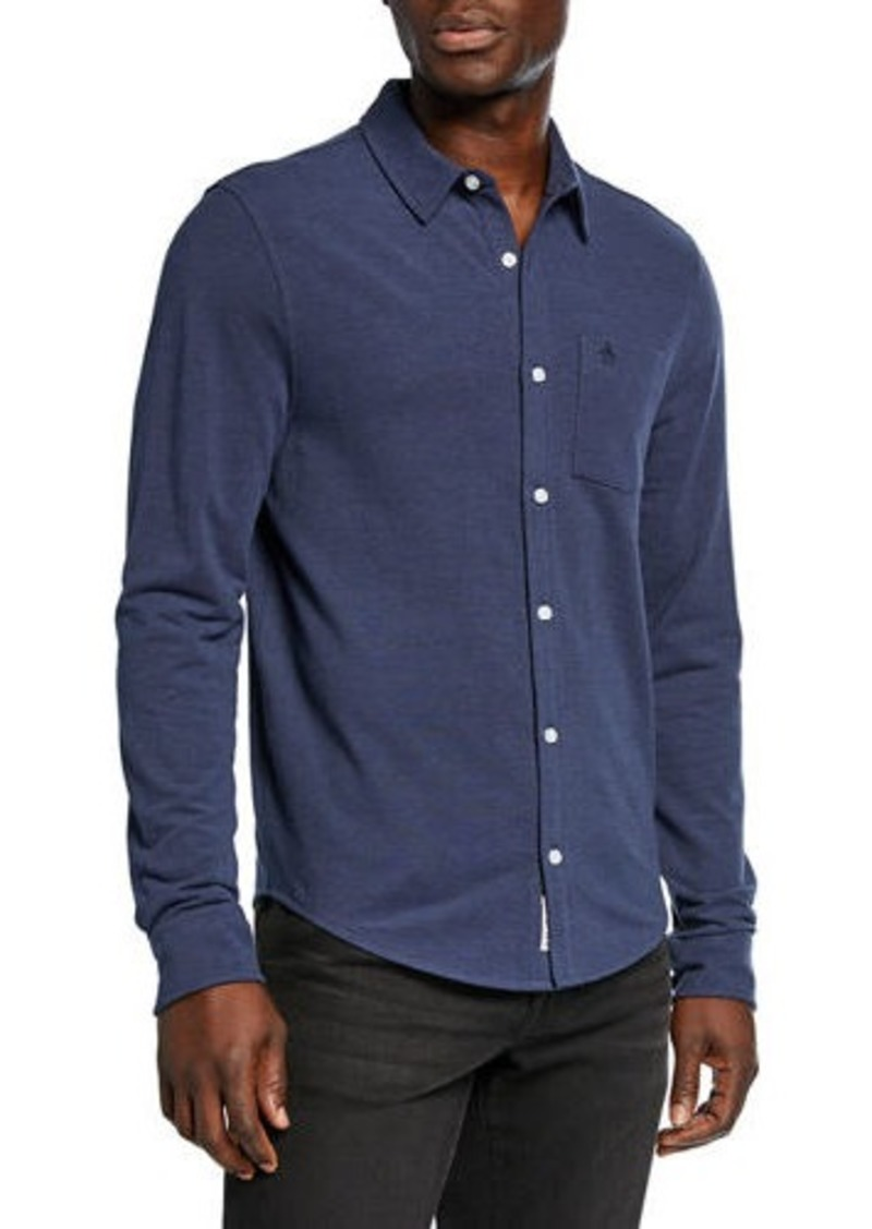 Original Penguin Men's Birdseye Pique Sport Shirt