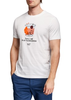 Original Penguin Men's Call Me Old Fashioned T-Shirt