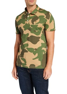 Original Penguin Men's Camo Jersey Polo Shirt