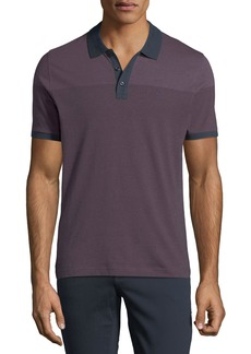 Original Penguin Men's Engineer Feeder-Stripe Polo Shirt