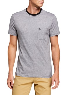 Original Penguin Men's Feeder Stripe Pocket T-Shirt