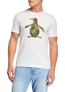 Original Penguin Men's Pete Fill Camo Short-Sleeve T-Shirt