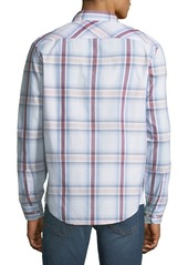 Original Penguin Men's Plaid Button-Front Sport Shirt