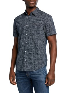 Original Penguin Men's Poplin Sport Shirt