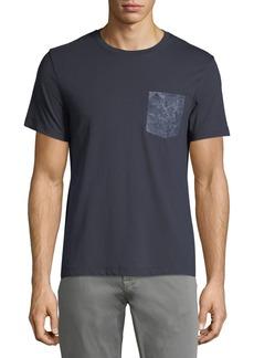 Penguin Men's Short-Sleeve Floral-Pocket T-Shirt