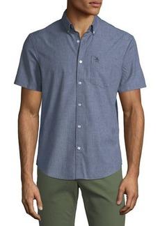 Original Penguin Men's Short-Sleeve Jaspe-Knit Sport Shirt