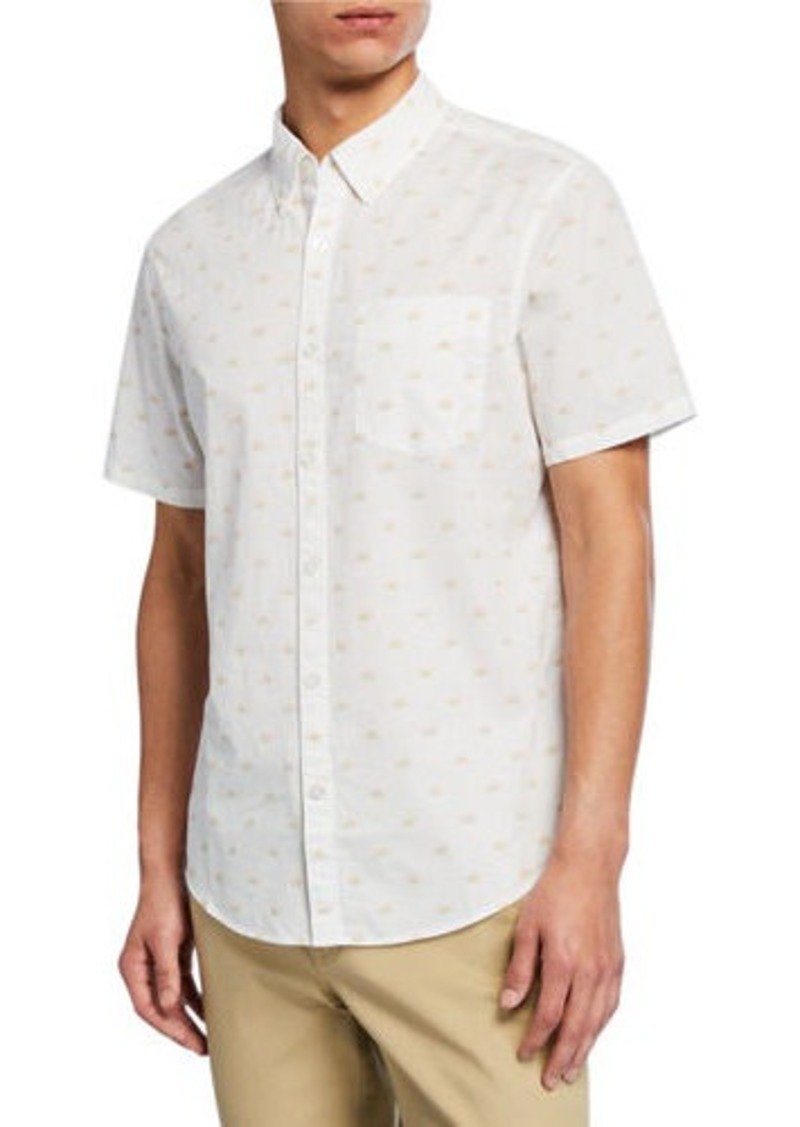 Original Penguin Men's Sun-Print Sport Shirt