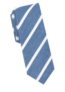 Penguin Adriano Striped Cotton Tie