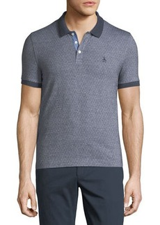 Penguin Birdseye-Dot Short-Sleeve Polo Shirt