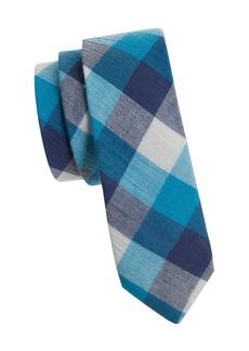 Penguin Check Cotton Tie