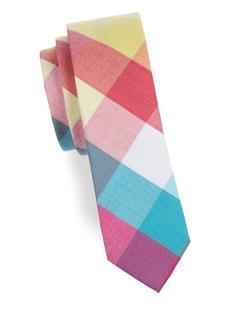 Penguin Checkered Cotton Tie