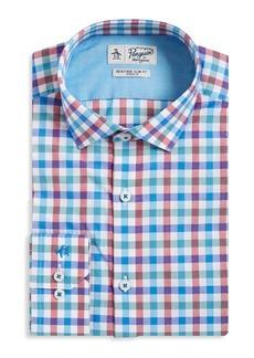 Penguin Checkered Heritage Slim-Fit Cotton Dress Shirt