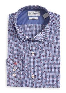 Penguin Chili Button-Down Dress Shirt