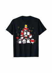 Penguin Christmas Tree Penguin Lover Merry Christmas Gifts T-Shirt