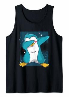 Penguin Dabbing - Cute Animal Dance Bird Tank Top