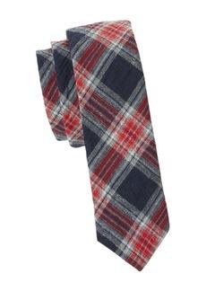 Penguin Faldo Plaid Tie