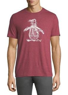 Penguin Fingerprint Pete Graphic T-Shirt