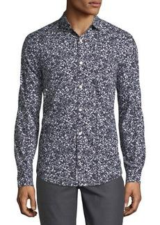 Penguin Floral-Print Sport Shirt