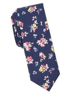 Penguin Gitlin Floral Cotton Tie