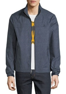Penguin Grid-Print Ratner Jacket