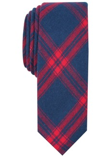 Original Penguin Penguin Men's Anders Skinny Plaid Tie