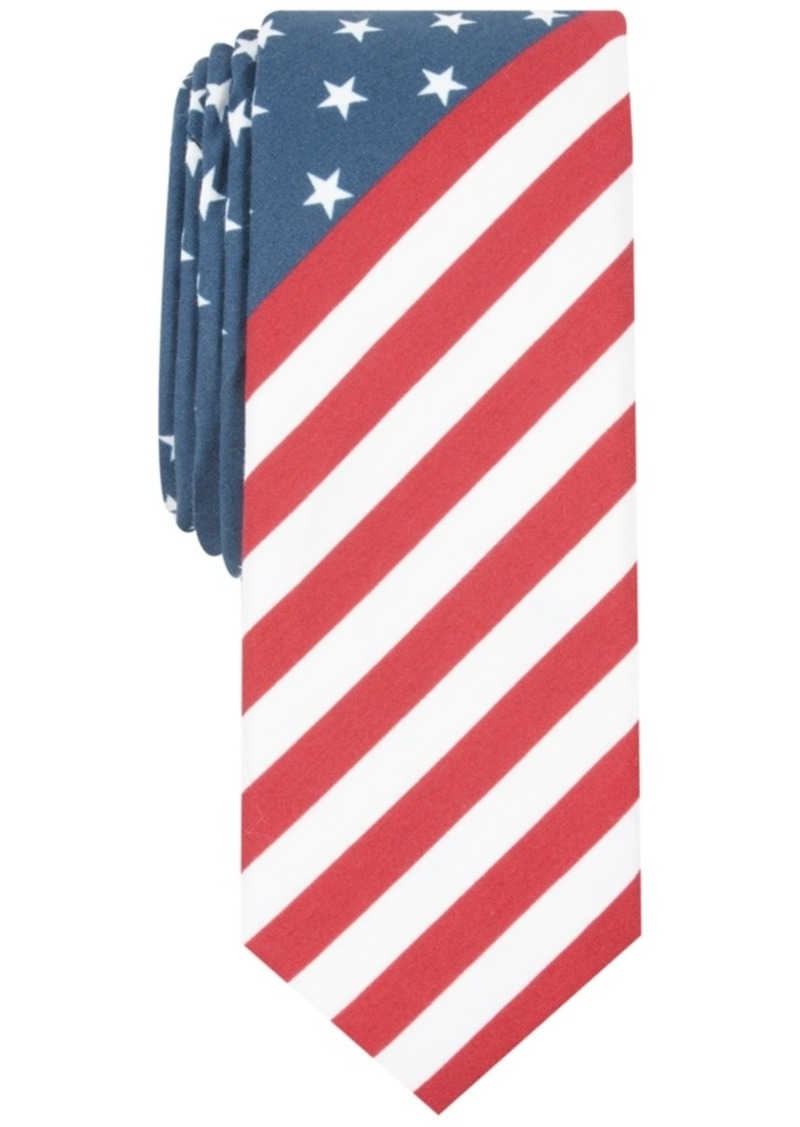 Original Penguin Penguin Men's Austin Stars & Stripes Skinny Tie