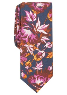 Penguin Men's Bathgate Floral Skinny Tie