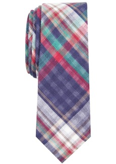 Penguin Men's Beale Skinny Plaid Tie