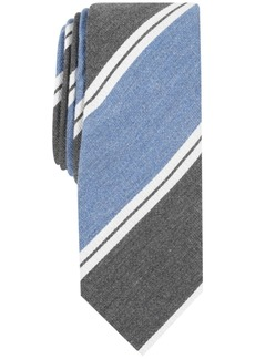 Penguin Men's Blackmun Stripe Skinny Tie
