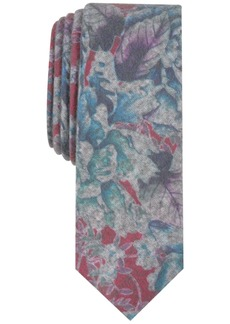 Penguin Men's Brocklin Floral Skinny Tie