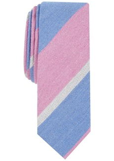 Penguin Men's Carey Stripe Skinny Tie