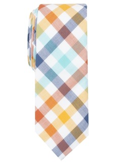 Penguin Men's Chouneau Check Skinny Tie