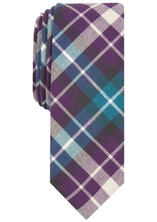 Penguin Men's Decter Skinny Plaid Tie