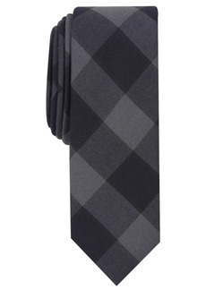 Original Penguin Penguin Men's Elise Skinny Plaid Tie