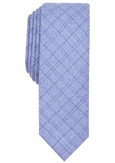 Penguin Men's Fischer Skinny Plaid Tie