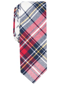 Original Penguin Penguin Men's Frederick Skinny Plaid Tie
