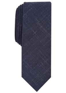 Original Penguin Penguin Men's Hensel Skinny Crosshatch Tie