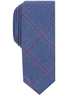 Penguin Men's Ives Check Skinny Tie